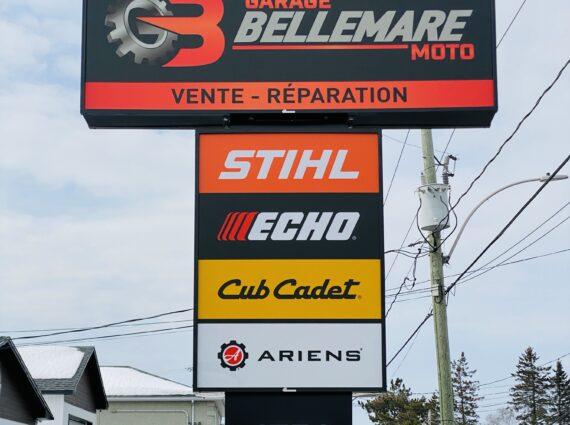enseigne Bellemare moto